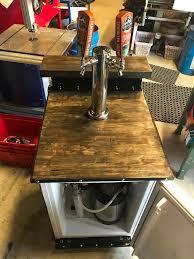 picture of convert a mini fridge into a kegerator