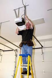 how to fix a garage door opener light