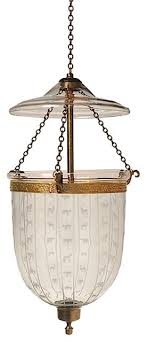 animal carnival etching hundi glass bell jar lantern 9 d antique brass
