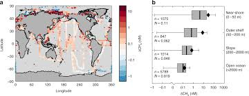 Global Ocean Methane Emissions Dominated By Shallow Coastal