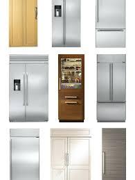extraordinary built in refrigerator freezer built in refrigerator kitchenaid built in refrigerator freezer not cooling