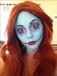 sally makeup from nightmare before