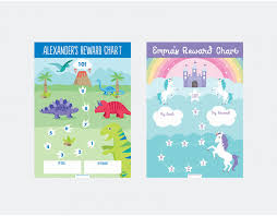 Reward Chart For 2 Year Old Personalised Reward Chart Reward Charts For Girls And Boys