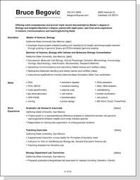 Get noticed by using a good resume design and layout.
