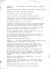 Leonard E. Read Journal - April 1977