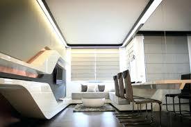futuristic home office. Interesting Excellent Office Interior Inspiring Ideas Futuristic Home Full Size Minimalist