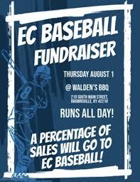 Local Restaurant To Host Ec Baseball Fundraiser The