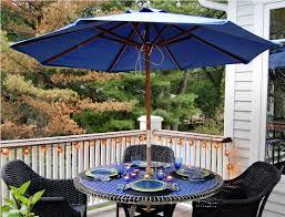 dining patio table umbrella