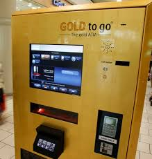Gold Bar Vending Machine Dubai