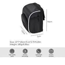 <b>Bike Handlebar Bag Bike</b> Bag Front Top Tube Bag <b>Cycling</b> Pouch ...