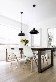 House Tour: Dining Room | Happy Grey Lucky Inside Eames Chair Dining Table  (View