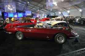 10327 rosso chiaro with tan leather interior the 365 california spyder was the ultimate development of the extremely sought after 250 long and short wheel base california spyder line built between 1957 and 1963. 1967 Ferrari 365 California Chassis 10327 Engine 10327