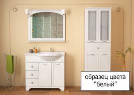 Мебель для ванной Dreja.eco Antia 95 белая купить в магазине ...