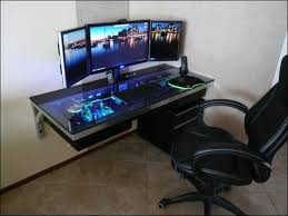 chic gaming desks best custom pc gaming computer desk ideas