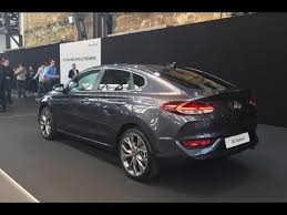 2018 hyundai fastback. wonderful hyundai 2018 hyundai i30 fastback world premiere in hyundai fastback