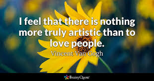 Vincent Van Gogh Quotes Awesome Vincent Van Gogh Quotes BrainyQuote