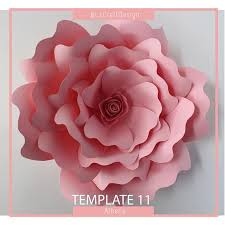 Giant Paper Flower Template Pdf Pdf Paper Flower Paper Flower Template Giant Paper Flower