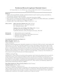 Grad School Resume Sample Stunning Resume For Phd Application Candidate Resume Sample Page Example