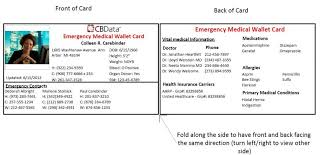 emergency contact template wallet card template emergency contact card template gladyoufound me