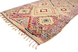 immersed in ancient berber tribe symbols and the star of david this vintage berber moroccan