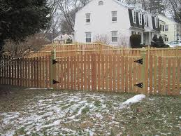 wood snow fence design