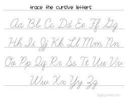 Cursive Handwriting Worksheet Cursive Tracing Worksheet Uk Cursive