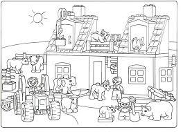 Inspirerend Kleurplaat Lego City Simple Home Decor Ideas