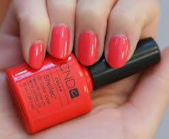<b>CND tropix</b> | Pink <b>shellac</b> nails, <b>Shellac</b> nail colors, <b>Cnd</b> nails