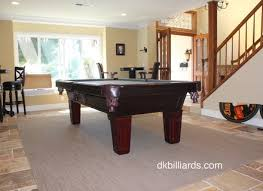 placing a pool table on a rug dk billiards pool table moving