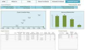Employee Vacation Planner Template Excel 2018 2019 Project