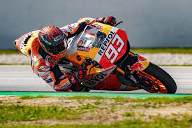 El día anterior titulé esta misma columna: Marc Marquez On Track In Barcelona Marc Marquez