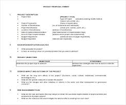 It Project Proposal Template Free Download 49 Project Proposal Templates Doc Pdf Free Premium