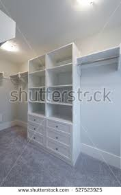 Room Open Empty Closet Working Closet Stock Photo Royalty Free
