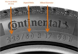 Tire Size Conversion Chart Understating Correct Tire Sizes