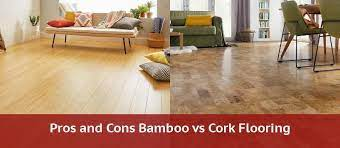 bamboo flooring vs cork flooring 2020