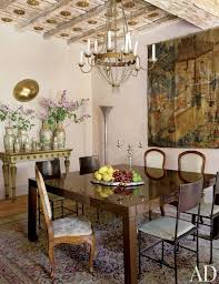traditional dining room by livia rebni in rome