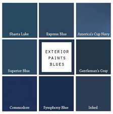 best navy blue paint color8 Paint Colors For A Blue Front Door  Blue Door Living