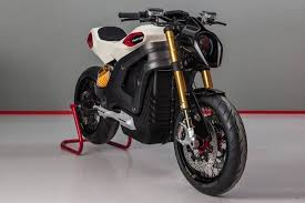 italian volt custom electric motorcycles will employ 3d printing