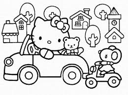 Small Picture Hello Kitty Coloring Page Nice Hello Kitty Coloring Pages Games