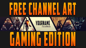youtube gaming channel art. Throughout Youtube Gaming Channel Art YouTube