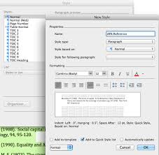 How To Do Apa Format In Word How To Format References In Apa Style Using Microsoft Word