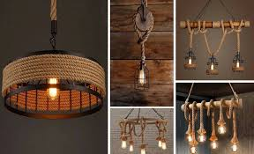 15 diy rope hanging light ideas