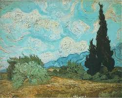 vincent van gogh is famous for this some painters add sand to their paint to make more tactile texture