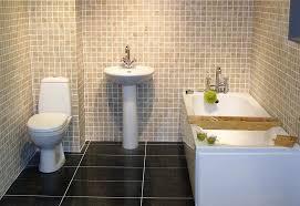 bathroom without bathtub design sleek modern