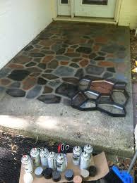 Painting Concrete Floors Inside House Elegant Design Exterior