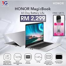 "<b>Honor MagicBook</b> (14"") – <b>Original</b> Malaysia Set – Satu Gadget Sdn ..."