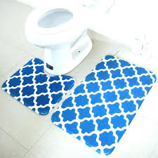 memory foam bath rugs sets geometric pattern mats and toilet set non slip bathroom mat rug