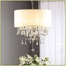 awesome drum shade chandelier with crystal umwdining com gatsby 8 light chrome finish and clear fantasy intended ikea lowe uk kit diy home depot oil rubbed