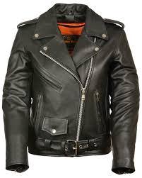 zoomed image milwaukee leather women s full length traditional leather police jacket 4x black hi