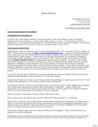 Call Center Team Lead Resume Download Now Cover Letter Examples At ...